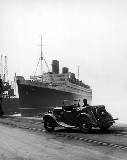The Queen Mary in the 1930s