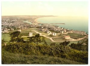 Ramsey, general view, Isle of Man, England