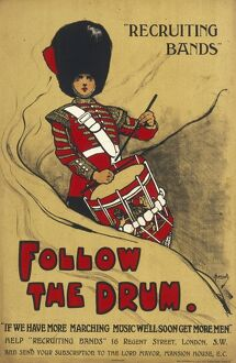 RECRUITING BANDS/WWI