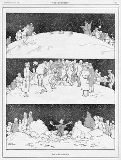 To The Rescue by William Heath Robinson