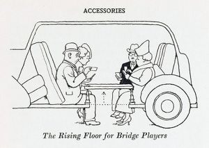 Rising floor for Bridge players / W H Robinson
