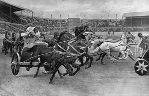 Roman Chariot Races at the British Empire Exhibition