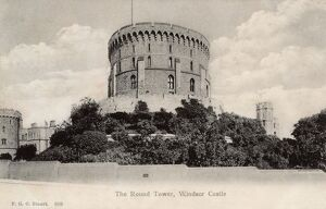 The Round Tower, Windsor Castle, Royal County of Berkshire