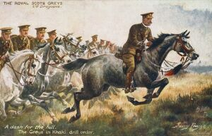 ROYAL SCOTS/DRILL/1914