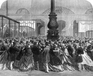 Royal wedding 1863 - exhibition of gifts