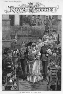 Royal wedding 1893 - bridal procession