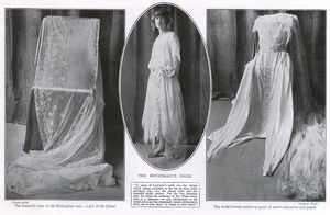 Royal Wedding 1923 - the bridal gown