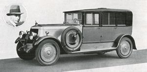 Royal Wedding 1923 - the honeymoon car