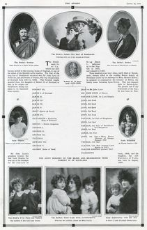Royal Wedding 1923 - Strathmore family tree