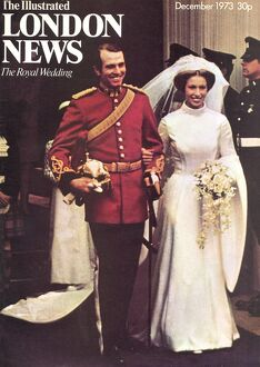 Royal Wedding 1973 - ILN front cover
