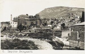 Ruins of the Basilica at Bergama/Pergamon
