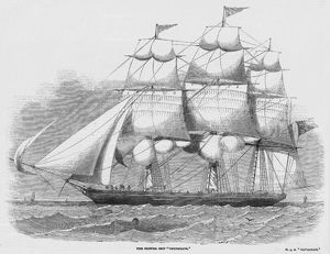 SAILING SHIP/CHRYSOLITE