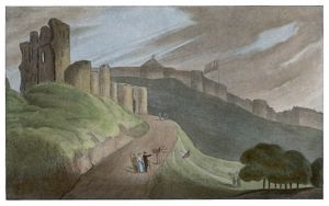 SCARBOROUGH CASTLE 1813