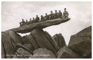 new images grenville collins collection/schoolboys sitting table rock glyder fach