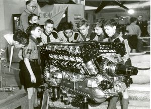 Scouts with a Rolls-Royce engine