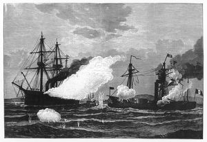 SEA BATTLE 1877