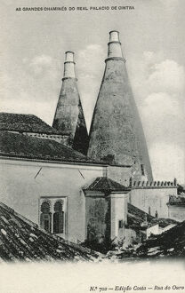 The Sintra National Palace - the Great Chimneys