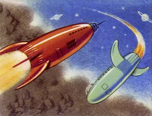 SPACE TRAVEL ROCKETS