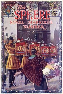 The Sphere Royal Marriage Number, cover
