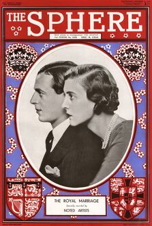 The Sphere Royal Wedding front cover 1934