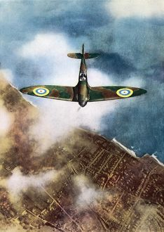 SPITFIRE COLOUR PHOTO