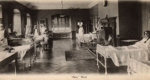 new images grenville collins collection/st bartholomews hospital london mary ward
