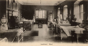 new images grenville collins collection/st bartholomews hospital london smithfield
