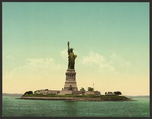 Statue of Liberty, New York Harbor