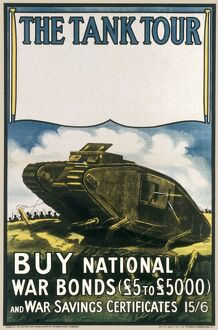 TANKS/WAR BONDS POSTER