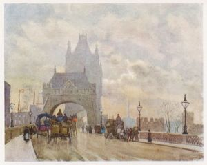 TOWER BRIDGE 1905