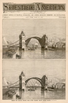 TOWER BRIDGE DESIGN 1883
