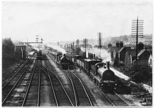 TRAINS AT REDHILL