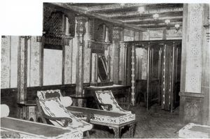The Turkish Bath Cooling Room on board the Titanic