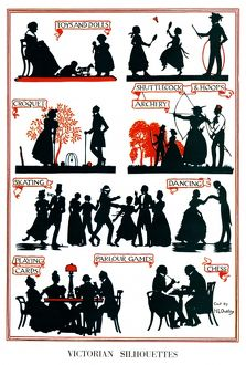 Victorian Silhouettes by H. L. Oakley