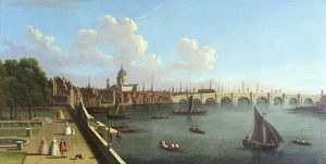 A View of Blackfriars, attributed to Francis Smith