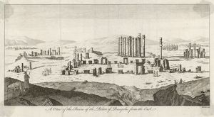 View of the Citadel of Persepolis, Iran