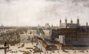 View of London, by William Daniell