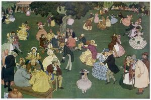 Village Revels by William Heath Robinson