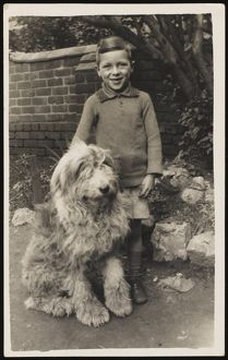 VINCENT FREDERICK & DOG