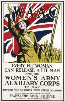 WAAC POSTER/WWI