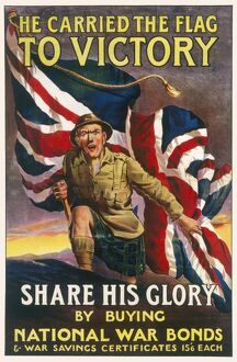 WAR BONDS POSTER WWI