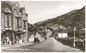 new images grenville collins collection/watermouth road hele devon