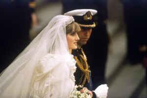 Wedding of Prince Charles and Lady Diana Spencer.