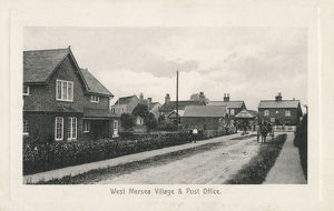 new images grenville collins collection/west mersea village post office essex