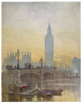 WESTMINSTER/1910/BIG BEN
