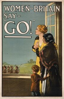 Women of Britain say Go!