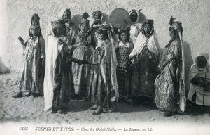 new images grenville collins collection/women ouled nails dancers musicians