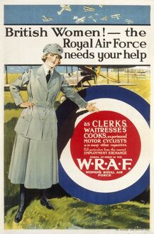 WRAF Recruitment poster