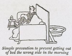 Out of wrong side of bed / W H Robinson