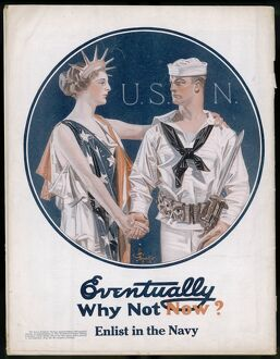 WW1/1917/US NAVY POSTER